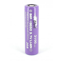 Batterie Efest purple 18650 3100 mah