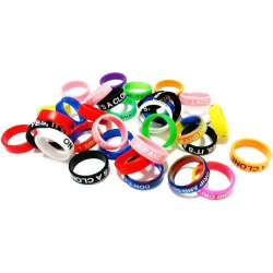 Vape Band Mix Colors 22mm