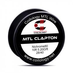 mtl clapton ni80 5.20ohm/ft