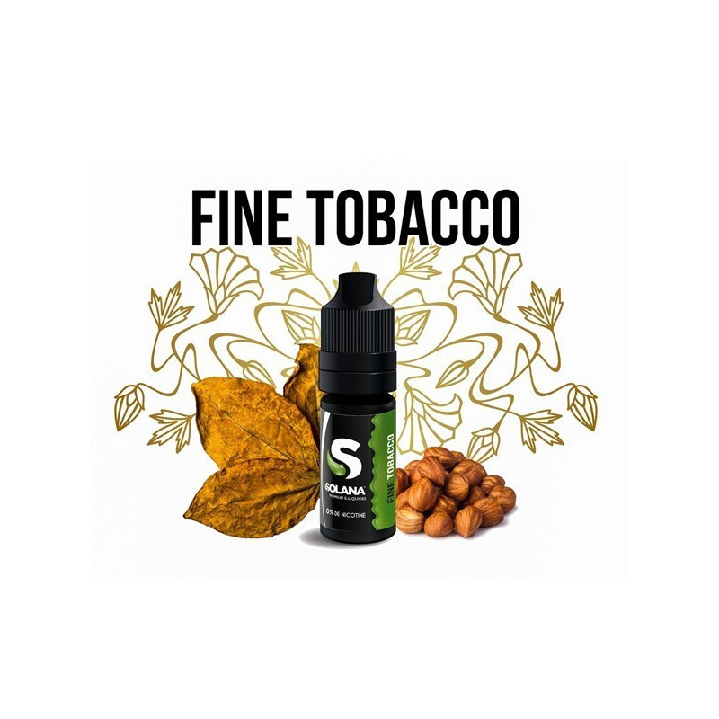 Concentré Fine tobacco 10ml