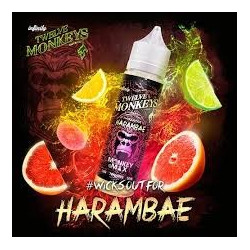 Harambae 50ML 0mg Twelve Monkeys