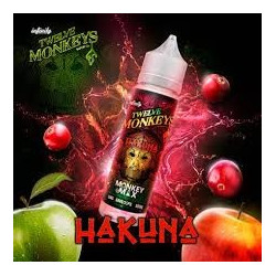 Hakuna 50ML 0mg Twelve Monkeys