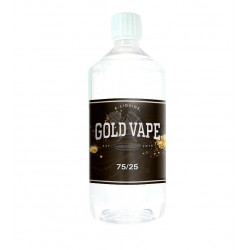 Base 75/25 0 mg 1L Gold Vape