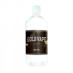 Base 25/75 0 mg 1L Gold Vape