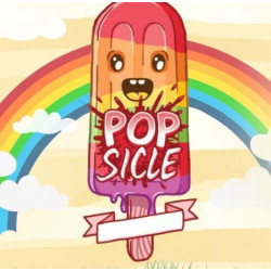 Rainbow Popsicle 100 ml RemixJuice