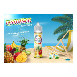 Tropical No Fresh 50ml 0mg Fruit Style